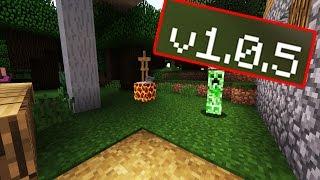 РЕЛИЗ !! - ПОДРОБНЫЙ ОБЗОР Minecraft PE 1.0.5