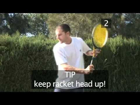 How To Master The Basic One-Handed Backhand