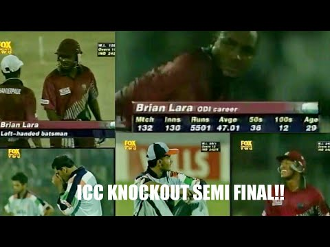 Brian Lara & Chanderpaul Match Winning Performance vs India | ICC KNOCK OUT SF |1998 | *RARE GOLD*