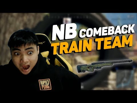 RIP113 cầm AWM giành TOP1 trong trận comeback của NB team!