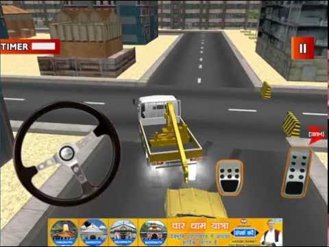 3D Tow Truck - Extreme Lorry Driving & Parking Simulator Game iOS Gameplay