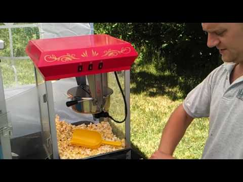 How To Use 8oz Popcorn Machine (kettle) - Party Rentals / Home Theater / Movie FULL DEMO!