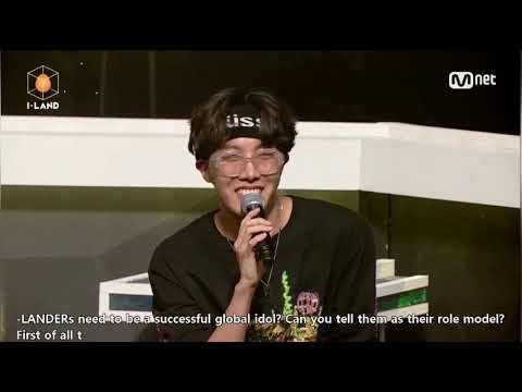 [Eng Sub] I-land final performance Calling (Run To You) + BTS comment and reaction