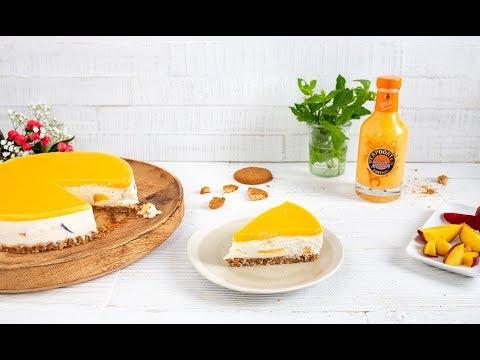 kuchen-ohne-backen-rezept-'verpoorten-pfirsich-maracuja-cheesecake'