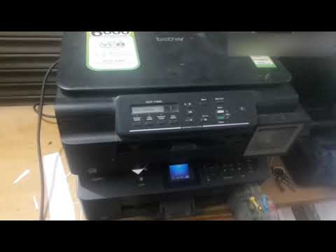 brother dcp T300 printing problem