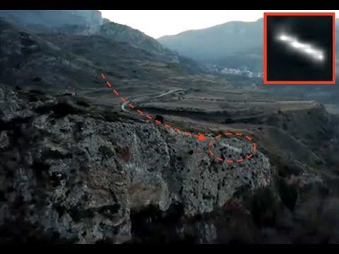 NEW *SECOND SIGHTING OF UTAH UFO CAPTURED IN SPAIN?