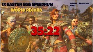 (WR) IX EASTER EGG SPEEDRUN 2 PLAYER