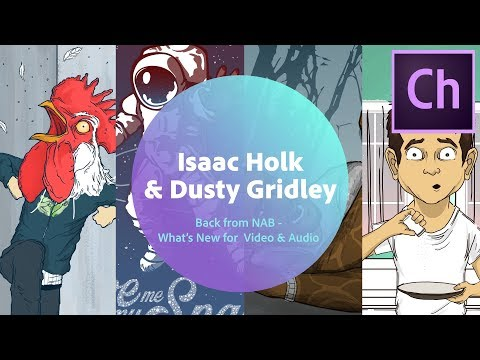 Live Character Animation with Isaac Holk & Dusty Gridley (Ch) - 1 of 3