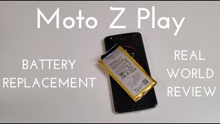 Motorola Moto Z Play Battery Replacement (How to change the battery for ~$20)