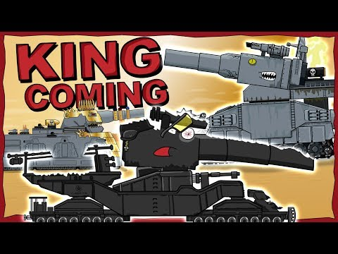 """""""The King comes"""" - Cartoons about tanks"""