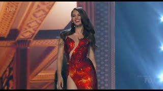 Download Video Highlights from evening gown portion of Miss Universe 2018 Top 5 MP3 3GP MP4