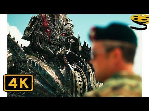 Мегатрон договаривается с Людьми | Трансформеры: Последний рыцарь (2017) IMAX CLIP
