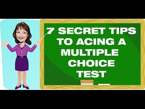 Teaching Strategies: 6 Secret Tips To Acing A Multiple Choice Test!