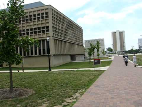 THE Ohio State University campus tour by bike