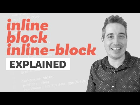 Block, Inline, And Inline-Block Explained | CSS Tutorial