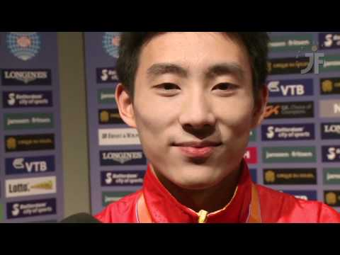 Interview with TENG Haibin 滕海濱 after the 2010 World Gymnastics Championships