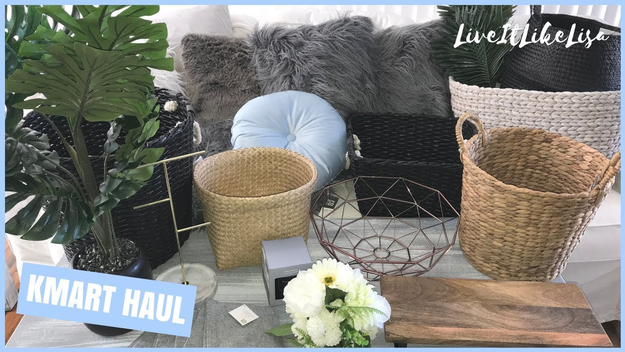 Haul Kmart Home Decor Youtube