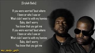 The Roots - You Got Me ft. Erykah Badu & Eve (Lyrics)