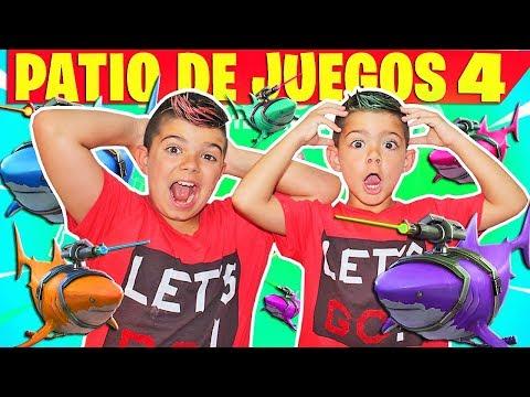 TROLLEO ENTRE HERMANOS *PATIO DE JUEGOS* EN FORTNITE!!! PS4