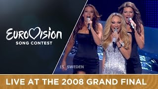 Charlotte Perrelli - Hero (Sweden) Live 2008 Eurovision Song Contest