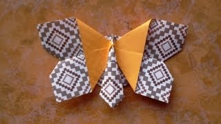 How To Make Origami Butterfly