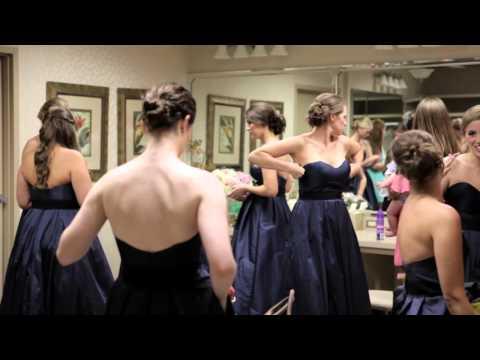 Bridal Party hits the pool - reheasal & wedding highlights