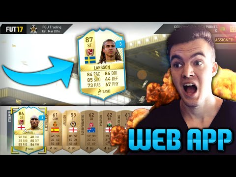 FIFA 17 WEB APP HYPE PACK OPENING