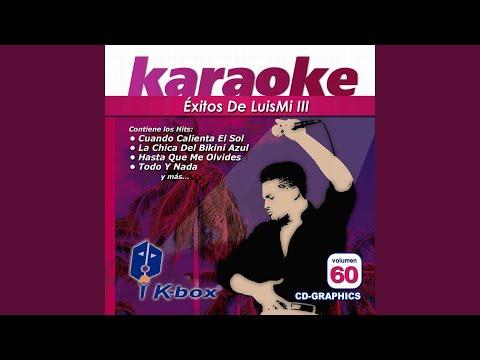 Ahora Te Puedes Marchar (Karaoke Version)