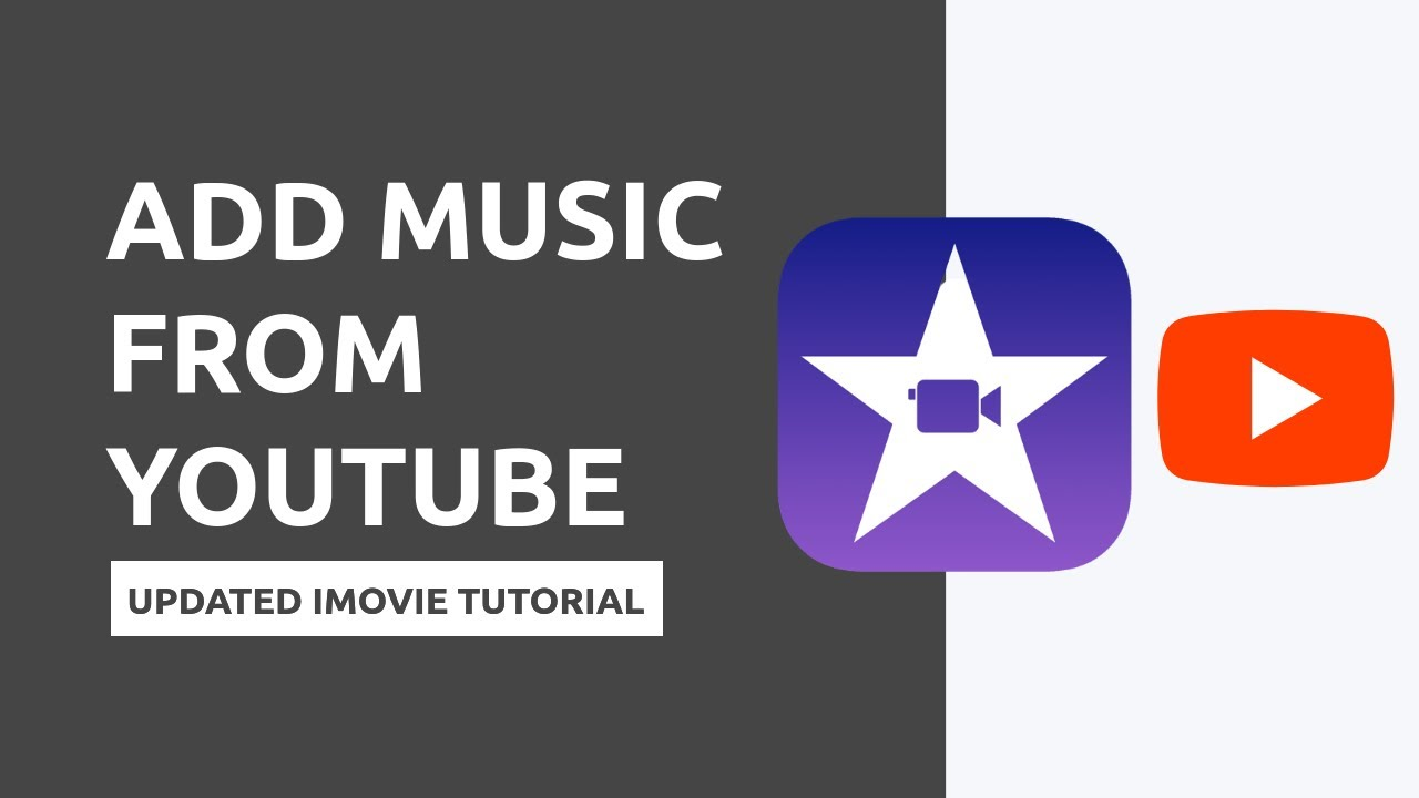 Importing Music From Youtube To Imovie No Apps Needed Youtube