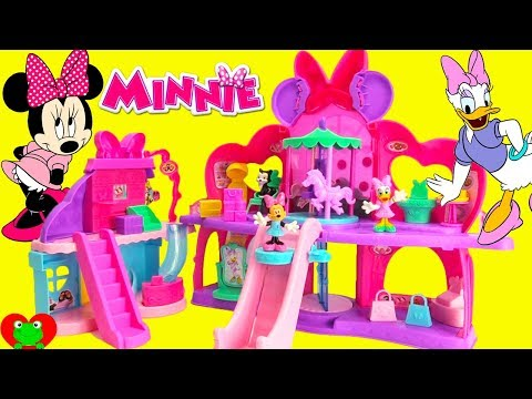 Minnie Mouse and Daisy Shopping Fabulous Fashion Mall Surprises
