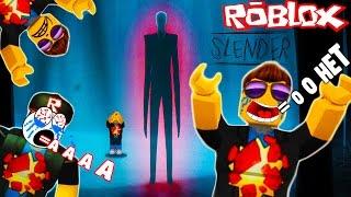 ОЧЕНЬ СТРАШНОЕ Приключения мульт героя ROBLOX на карте Slenderman видео для детей от Funny Games TV