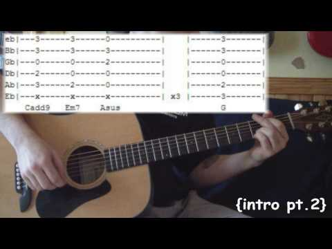 Tonight, Tonight (REVISED) by Smashing Pumpkins - Full Guitar Lesson & Tabs
