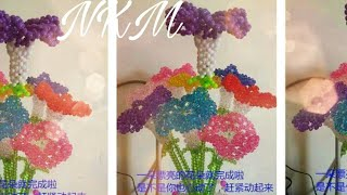 Download Video how to make beaded chaina rose MP3 3GP MP4