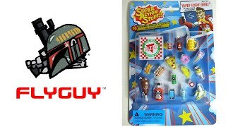 """Super Action Stuff 18 Piece 6"""" Scale Super Foodie Action Figure Accessories Review 