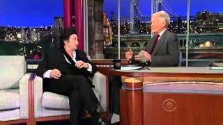 Al Pacino interview on David Letterman - 2013