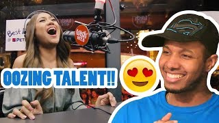 MORISSETTE AMON PERFORMS 'RISE UP' LIVE ON WISH 107.5 BUS REACTION