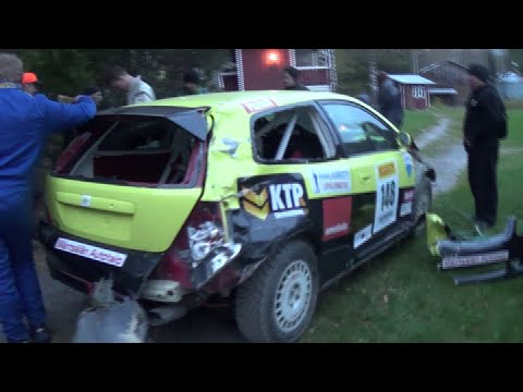 Pirelli Ralli, Tampere 2016 (crash & action)