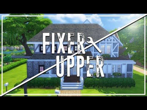 The Sims 4: Fixer Upper - Home Renovation | The Trash House