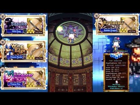 [FFRK] Shadow Sasuke FFVI Event Rare Relic Draw   Final Fantasy Record Keeper