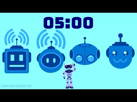 5 Minute Robot Fun Timer ?