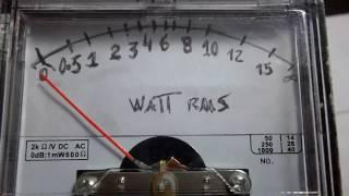 Wattimetro para você construir