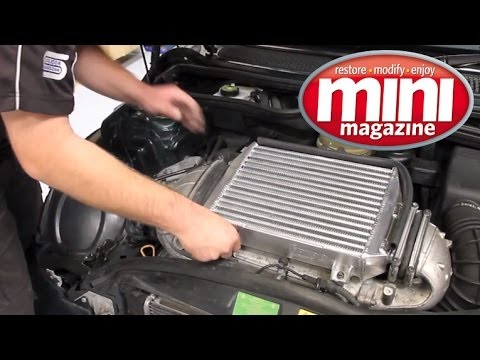 forge motorsport intercooler install youtube