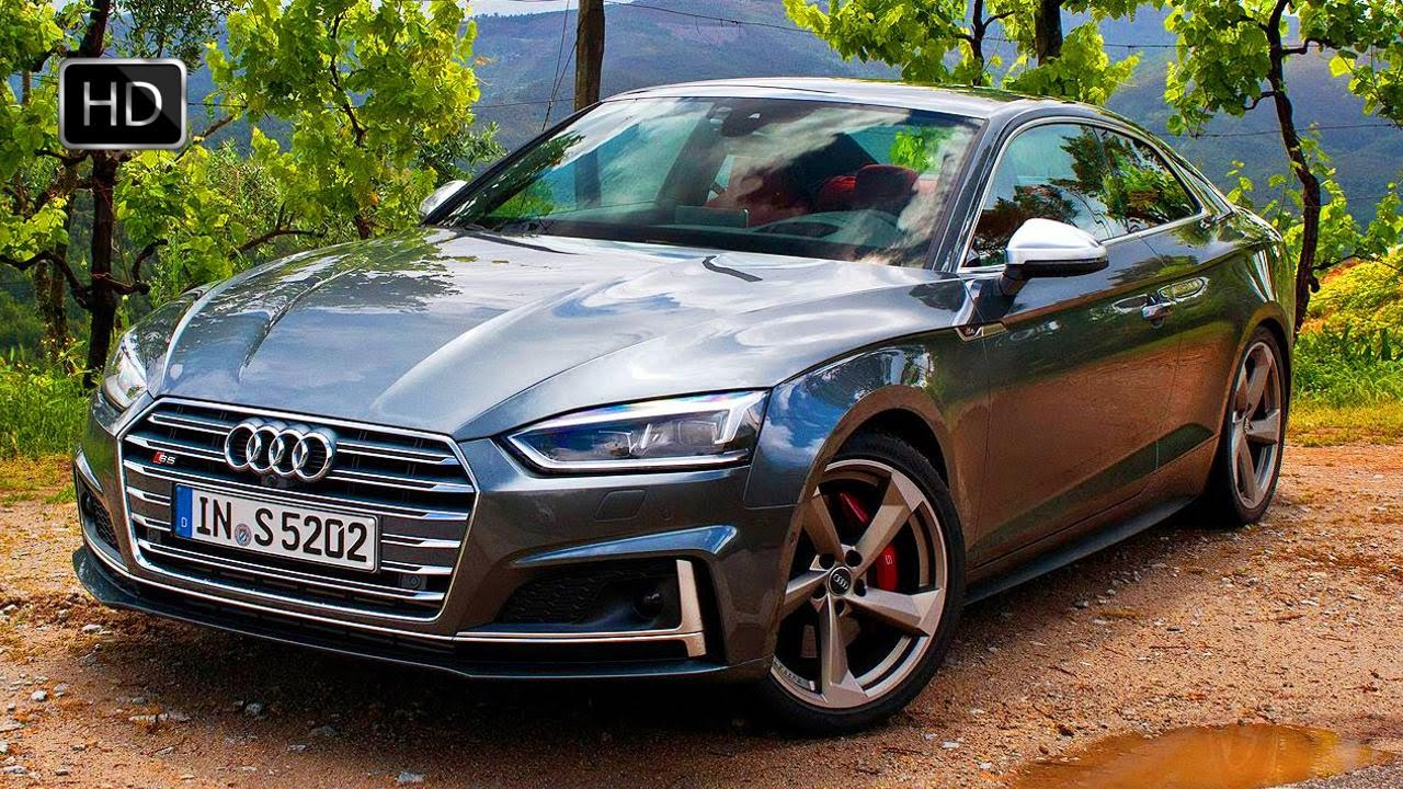 2017 Audi S5 Quattro Coupe With 354 Hp Turbocharged V6