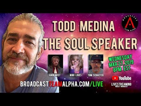 Todd Medina - The Soul Speaker - BTA Weekly Broadcast