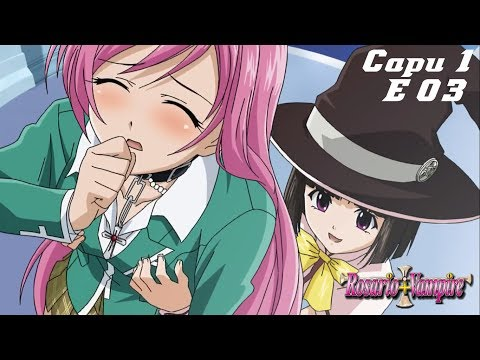 Rosario Vampire The Anime Youtube