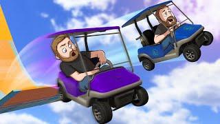 Golf Car Stunt Racing! | GTA5