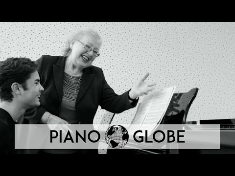 Masterclass-clip with Piano Professor Veronika Vitaite, Lithuania
