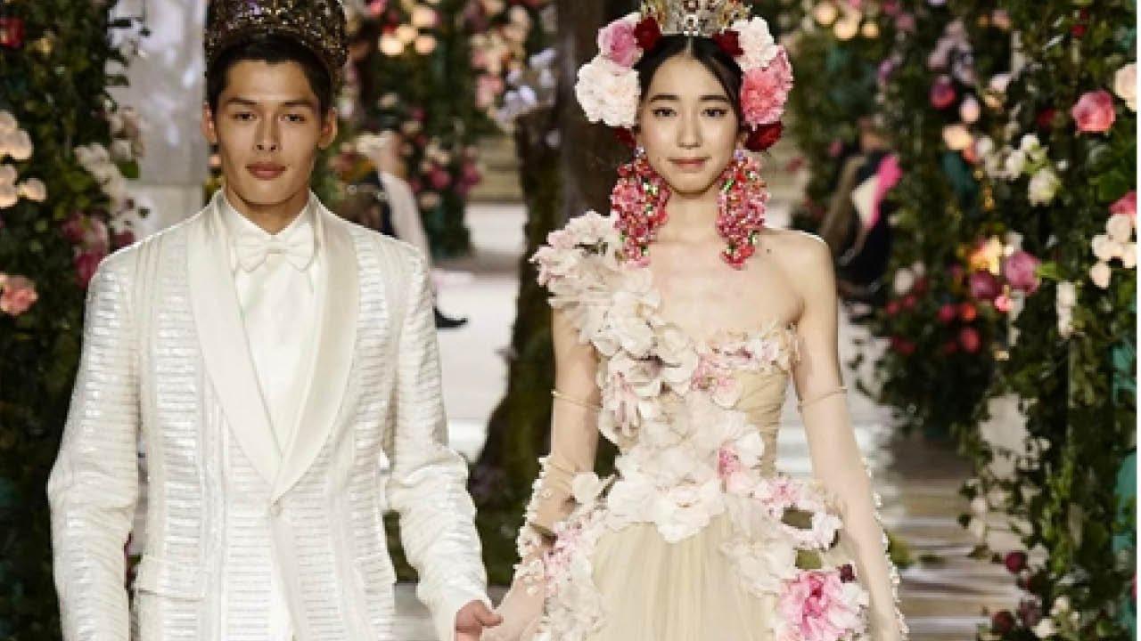 Dolce   Gabbana Takes Alta Moda to Tokyo - YouTube 77b4bde389d