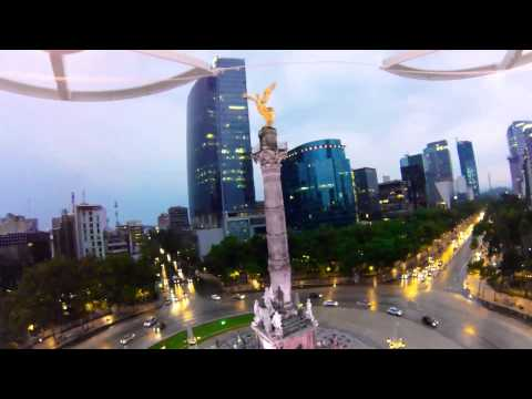 The angel of independence monument in Mexico City