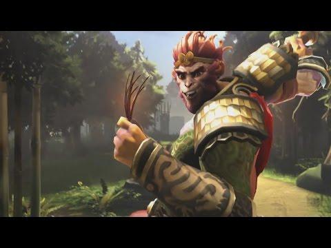 DOTA 2 Monkey King Cinematic Trailer